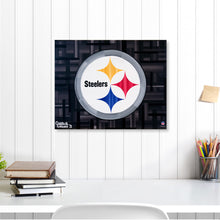 "Load image into Gallery viewer, Pittsburgh Steelers 16"" x 20"" Embellished Giclee"