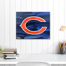 "Load image into Gallery viewer, Chicago Bears 16"" x 20"" Embellished Giclee"