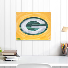 "Load image into Gallery viewer, Green Bay Packers 16"" x 20"" Embellished Giclee"