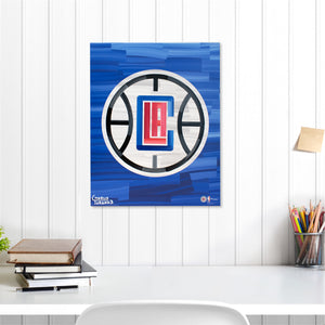 "Los Angeles Clippers 16"" x 20"" Embellished Giclee"