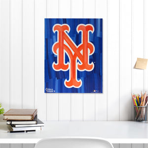 "New York Mets 16"" x 20"" Embellished Giclee (NY)"