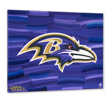"Load image into Gallery viewer, Baltimore Ravens 16"" x 20"" Embellished Giclee"