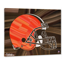 "Load image into Gallery viewer, Cleveland Browns 16"" x 20"" Embellished Giclee"