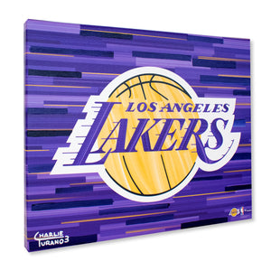 "Los Angeles Lakers 16"" x 20"" Embellished Giclee"