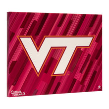 "Load image into Gallery viewer, Virginia Tech Hokies 16"" x 20"" Embellished Giclee"