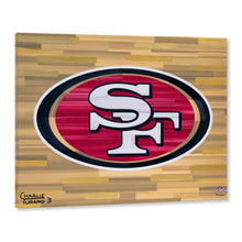 "Load image into Gallery viewer, San Francisco 49ers 16"" x 20"" Embellished Giclee"