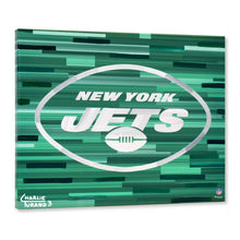"Load image into Gallery viewer, New York Jets 16"" x 20"" Embellished Giclee"