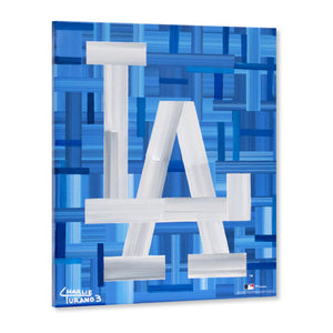 "Los Angeles Dodgers 16"" x 20"" Embellished Giclee (LA)"