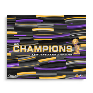 "2020 NBA Finals 16"" x 20"" Embellished Giclee"