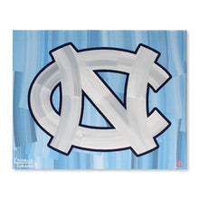 "Load image into Gallery viewer, North Carolina Tar Heels 16"" x 20"" Embellished Giclee"