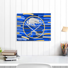 "Load image into Gallery viewer, Buffalo Sabres 16"" x 20"" Embellished Giclee"