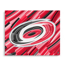 "Load image into Gallery viewer, Carolina Hurricanes 16"" x 20"" Embellished Giclee"