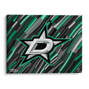 "Dallas Stars 16"" x 20"" Embellished Giclee"
