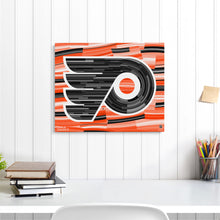 "Load image into Gallery viewer, Philadelphia Flyers 16"" x 20"" Embellished Giclee"
