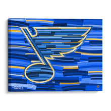"Load image into Gallery viewer, St. Louis Blues 16"" x 20"" Embellished Giclee"