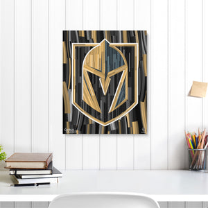 "Vegas Golden Knights 16"" x 20"" Embellished Giclee"