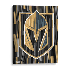 "Load image into Gallery viewer, Vegas Golden Knights 16"" x 20"" Embellished Giclee"