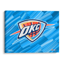 "Load image into Gallery viewer, Oklahoma City Thunder 16"" x 20"" Embellished Giclee"
