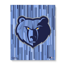 "Load image into Gallery viewer, Memphis Grizzlies 16"" x 20"" Embellished Giclee"