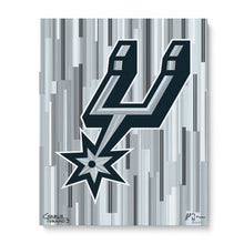"Load image into Gallery viewer, San Antonio Spurs 16"" x 20"" Embellished Giclee"
