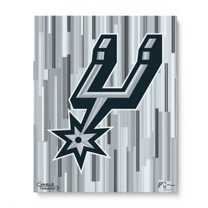 "San Antonio Spurs 16"" x 20"" Embellished Giclee"