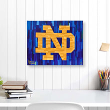 "Load image into Gallery viewer, Notre Dame 16"" x 20"" Embellished Giclee (ND)"