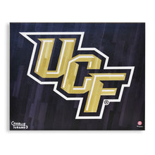 "Load image into Gallery viewer, UCF Knights 16"" x 20"" Embellished Giclee (UCF)"