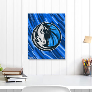 "Dallas Mavericks 16"" x 20"" Embellished Giclee"