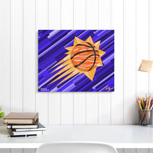 "Load image into Gallery viewer, Phoenix Suns 16"" x 20"" Embellished Giclee"