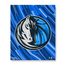 "Load image into Gallery viewer, Dallas Mavericks 16"" x 20"" Embellished Giclee"