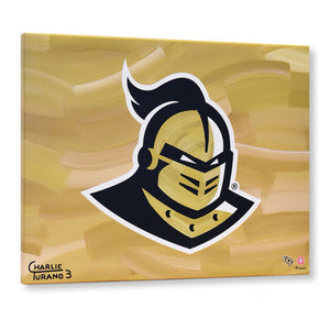 "UCF Knights 16"" x 20"" Embellished Giclee (Knight)"