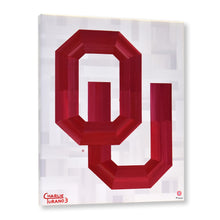 "Load image into Gallery viewer, Oklahoma Sooners 16"" x 20"" Embellished Giclee (White)"