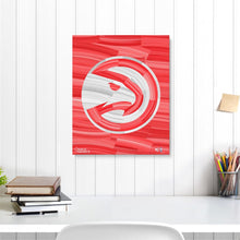 "Load image into Gallery viewer, Atlanta Hawks 16"" x 20"" Embellished Giclee"