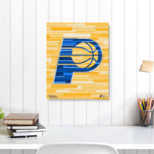 "Load image into Gallery viewer, Indiana Pacers 16"" x 20"" Embellished Giclee"