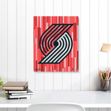 "Load image into Gallery viewer, Portland Trailblazers 16"" x 20"" Embellished Giclee"