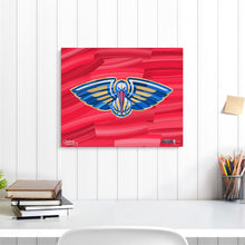"Load image into Gallery viewer, New Orleans Pelicans 16"" x 20"" Embellished Giclee"