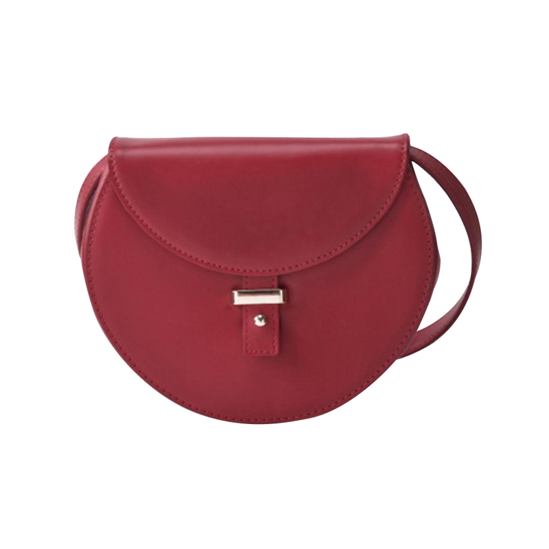 Half moon saddle bag