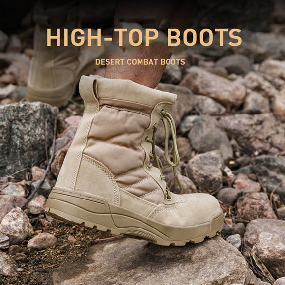High-top Desert Boots