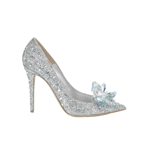 Cinderella Crystal High Heels