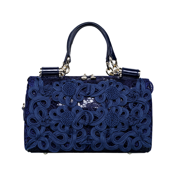 Lace flower handbag