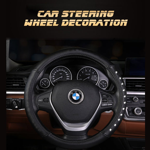 Car steering wheel decoration