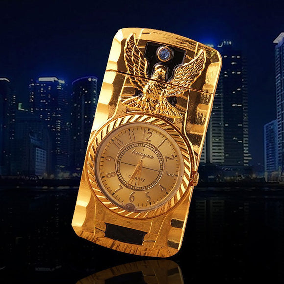 Watch-style Golden Eagle Lighter