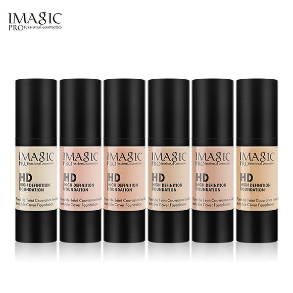 Waterproof oil control liquid foundation