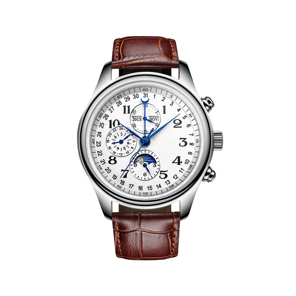 Full-Automatic Eight-pointer Mechanical Male Watch