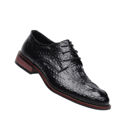 Crocodile pattern casual shoes