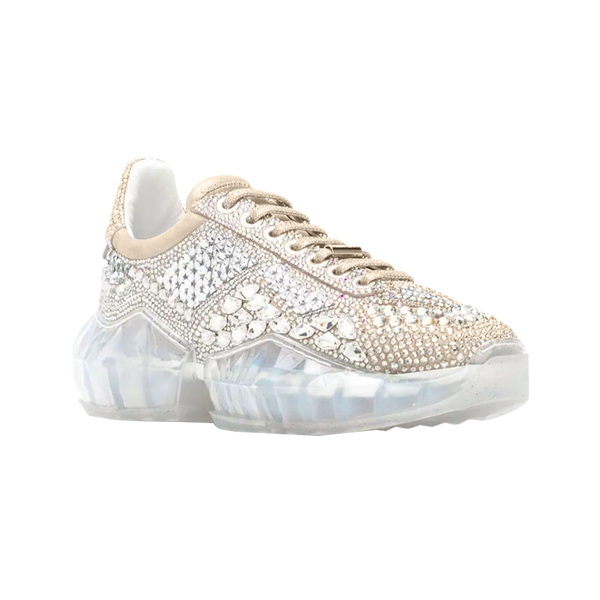 Crystal Thick-soled Clunky Sneaker