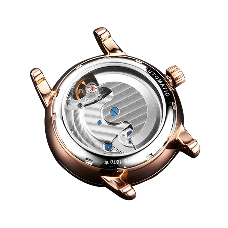 SEKARO Hollow-out Flywheel Automatic Mechanical Watch
