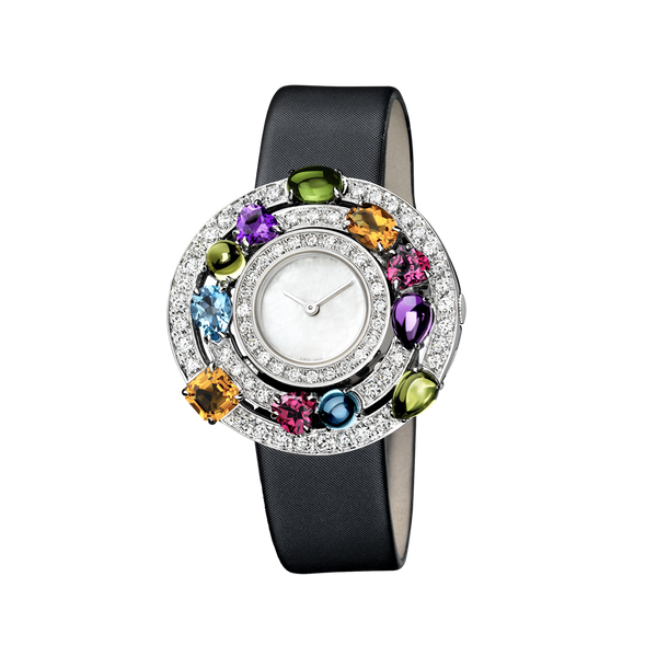 Colorful Gemstone Watch