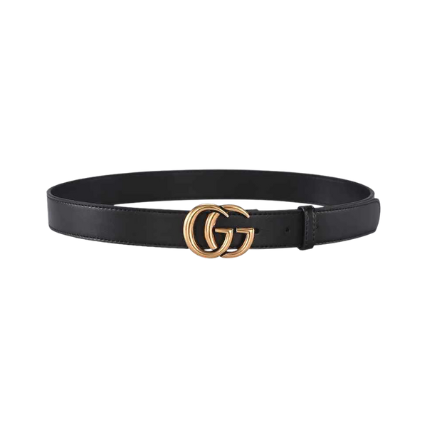 Double G buckle belt