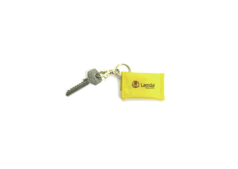 Laerdal Resusci Faceshield Keyring Yellow 5937